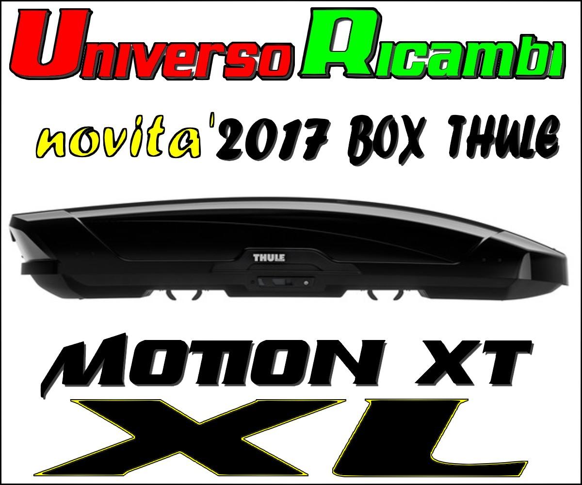 Tetto In Lamiera Opinioni dettagli su box da tetto thule motion xt (xl) nero lucido 500 litri
